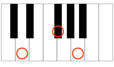 ピアノ-D